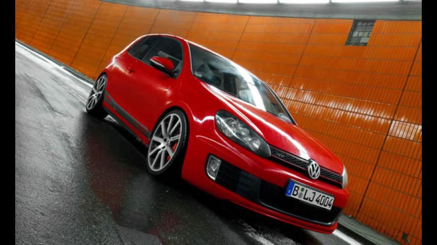 Preparadora esportiva MTM eleva as potências do Novo Golf GTI e GTD
