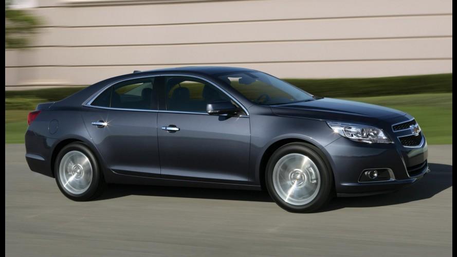Chevrolet Malibu 2012 começa a ser produzido na Coreia do Sul com novo motor 2.5 Ecotec