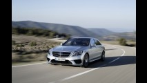 Galeria: Mercedes revela o S 63 AMG por inteiro