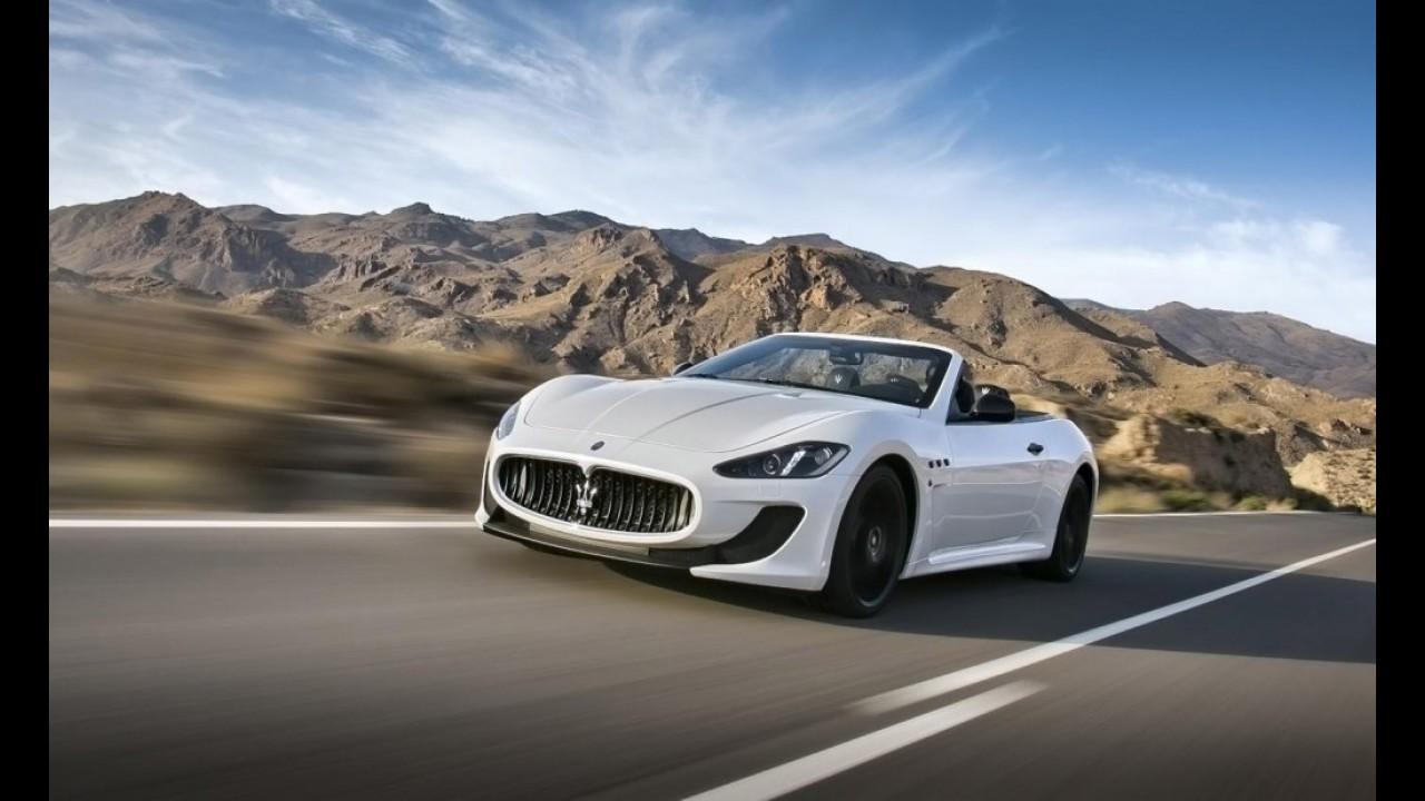 Maserati GranTurismo Convertible MC 2013 é revelada antes do Salão de Paris