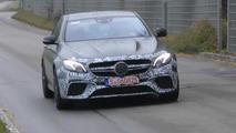 Mercedes-AMG E63 Sedan prototype screenshot from spy video