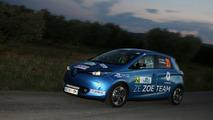 Renault Zoé à l'e-rallye Monte Carlo