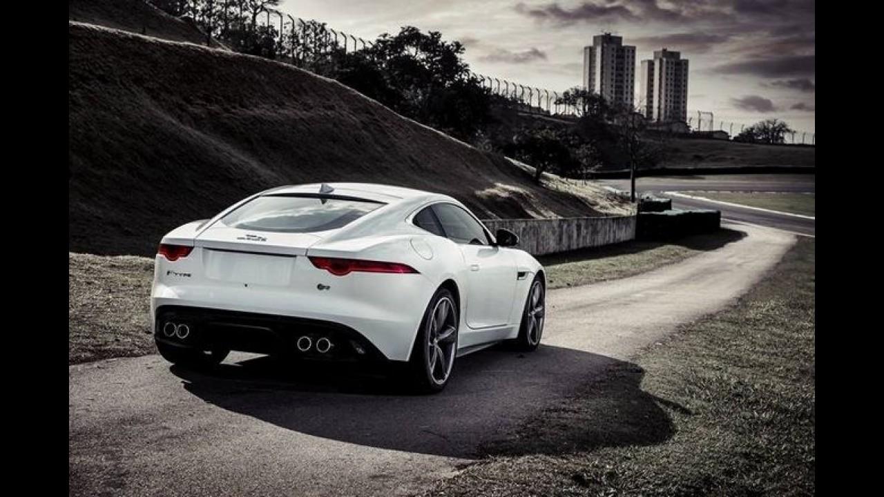 Jaguar F Type Coupé Chega Ao Brasil Custando A Partir De R$ 426,