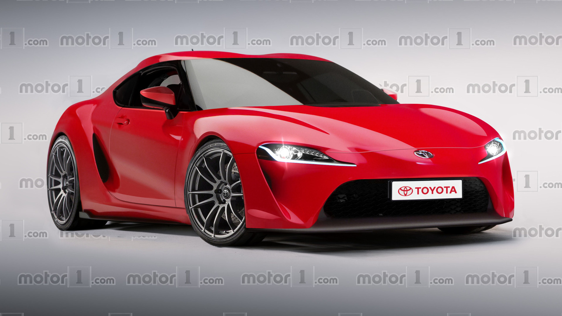 much hyped toyota supra revival digitally imagined. Black Bedroom Furniture Sets. Home Design Ideas
