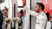Podium- third place Lewis Hamilton, Mercedes AMG F1