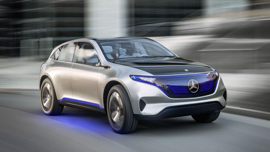 Mercedes'in EQ CUV modeli 2019'un sonlarında satışta olacak
