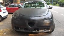 Alfa Romeo Stelvio baştan aşağı gözlendi