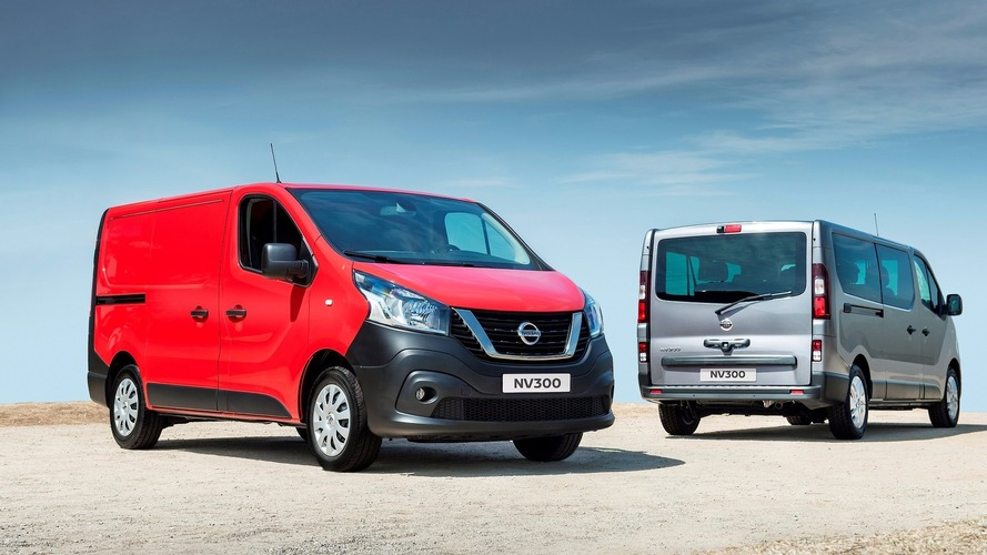 New Nissan NV300 van revealed in Europe