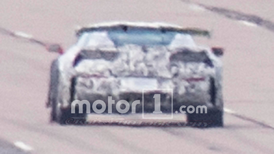 Next Chevy Corvette ZR1 spied with big wing