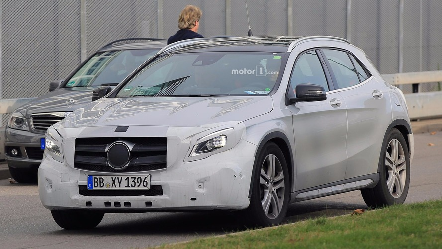 Mercedes GLA facelift reveal confirmed for next Monday