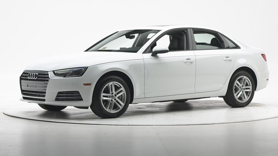 2017 Audi A4 IIHS top safety pick