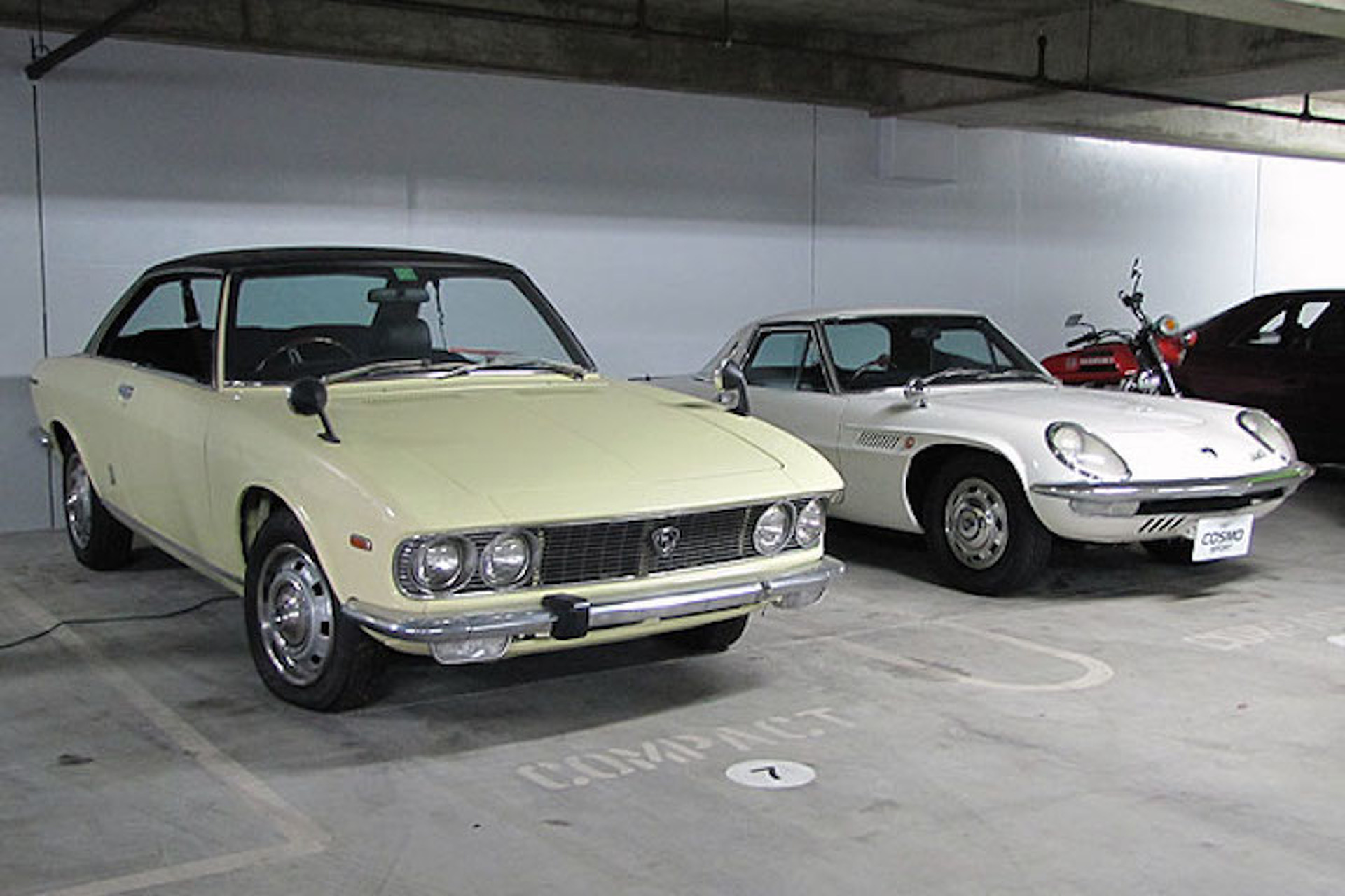A Cache of Classic Mazdas Live Under Restricted Airspace in California