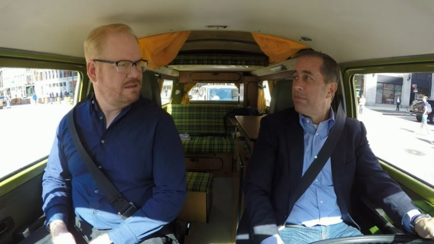 1977 VW Bus lets Seinfeld and Gaffigan camp in Manhattan