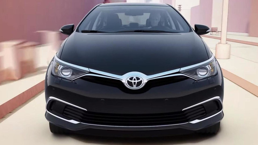 Unknown Corolla revealed in Toyota Safety Sense feature video