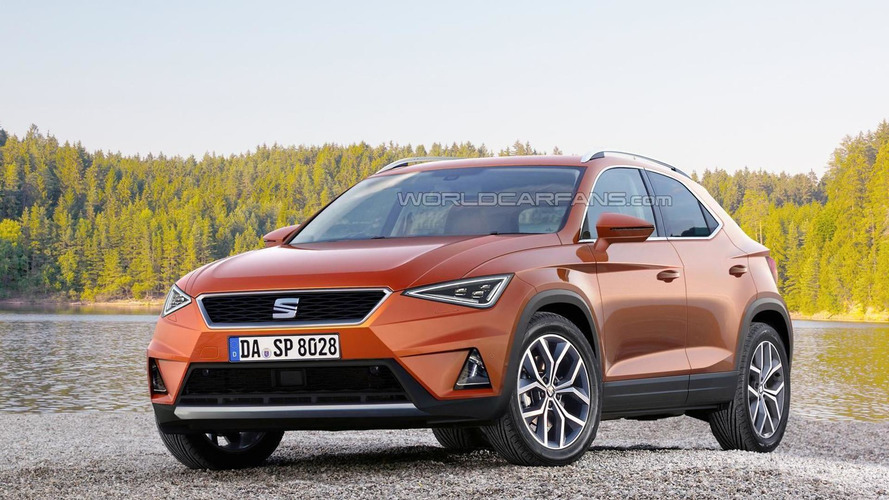 SEAT Ibiza-based crossover rendered ahead of possible 2017 launch