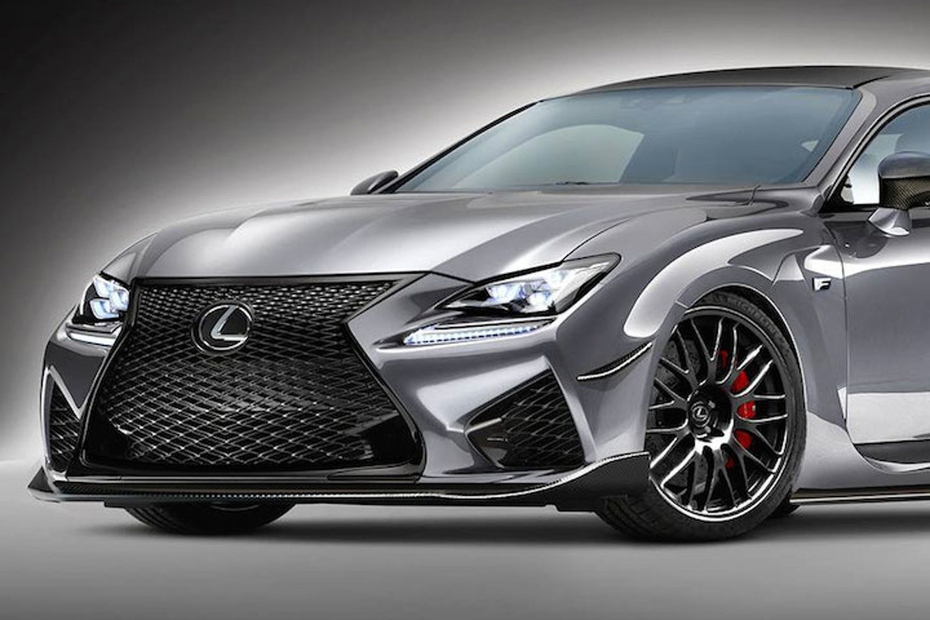 600HP Lexus RC FS Twin Turbo Concept is an Amazing 'What If'