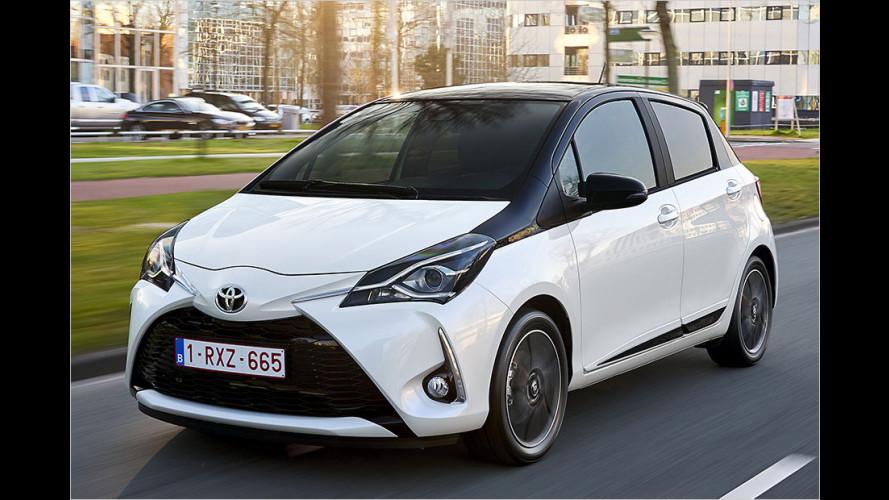 Gelifteter Toyota Yaris mit neuem 1,5-Liter-Benziner im Test