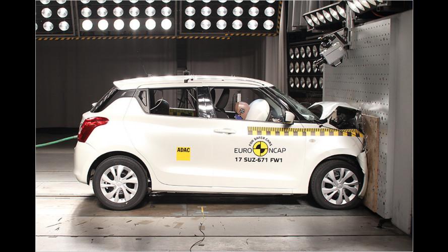 Kleinwagen bieten zu wenig vorbeugende Sicherheitssysteme