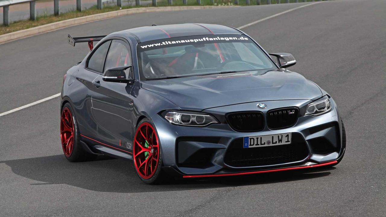 Lightweight BMW M2 CSR