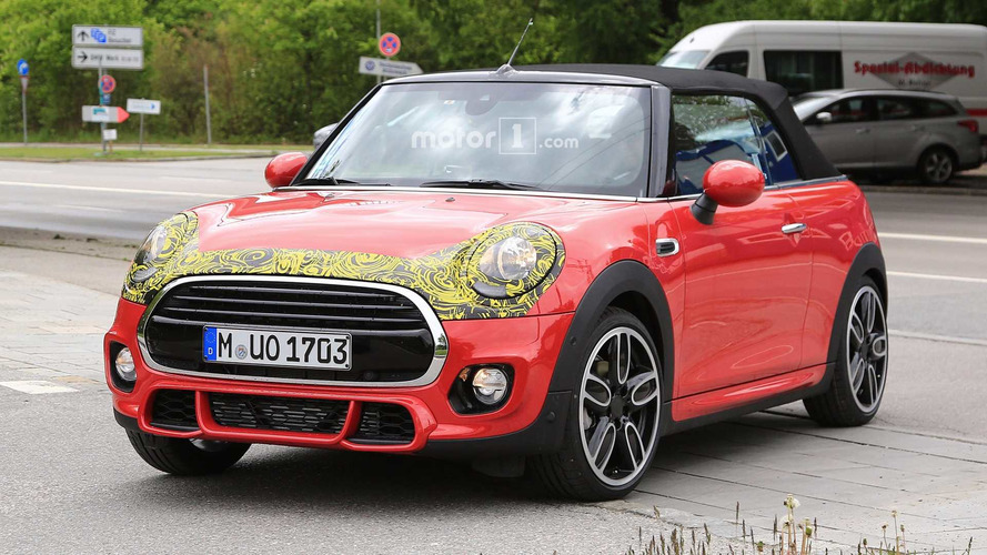 Mini Convertible And Cooper S Spied With Mini Facelift