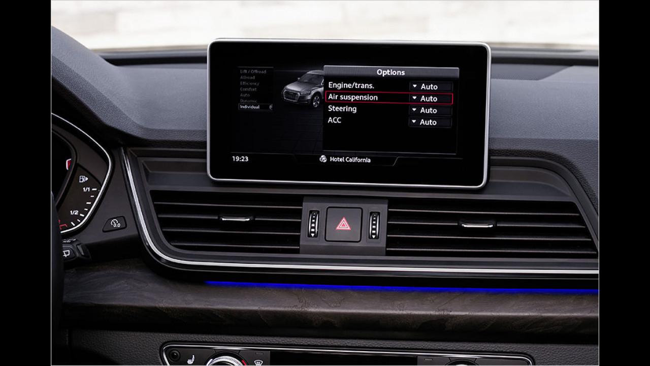 Drive Select: Individual-Modus