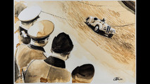 BMW pinturas de café