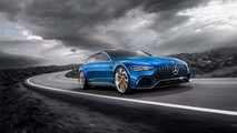 Mercedes-AMG GT Concept Wagon Renderings