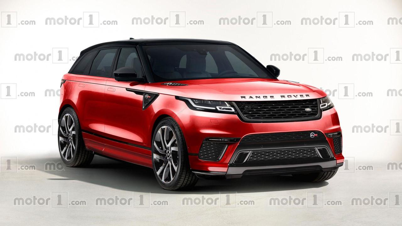 Range Rover Velar SVR render
