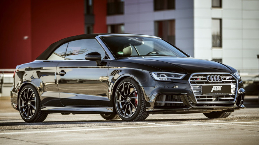 Abt Power S Package Pushes Audi S3 Cabrio To 400HP