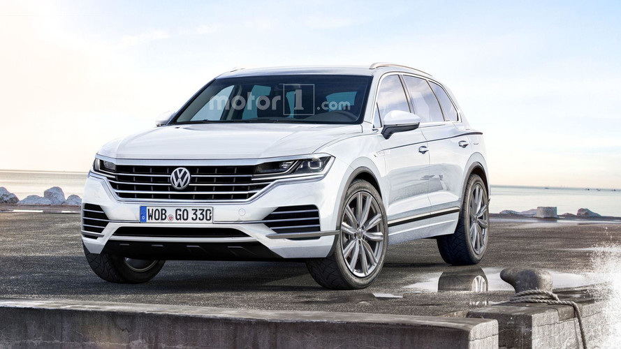 Vw Touareg Spy 2018 Rendered With More Upscale Cues