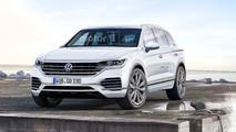 VW Touareg Rendering