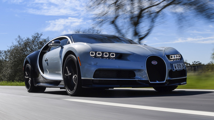 Bugatti Chiron halefi elektriklenecek