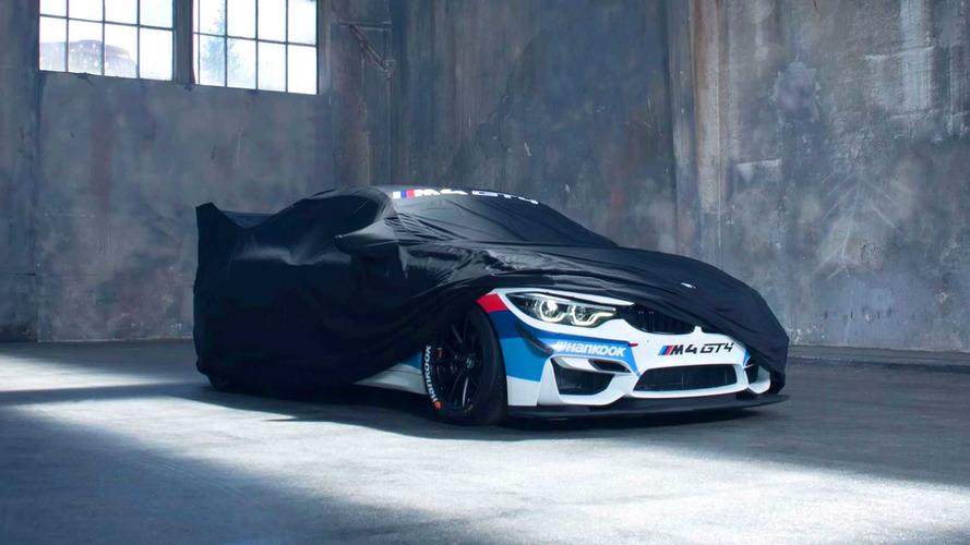 La BMW M4 GT4 se montre en avance!