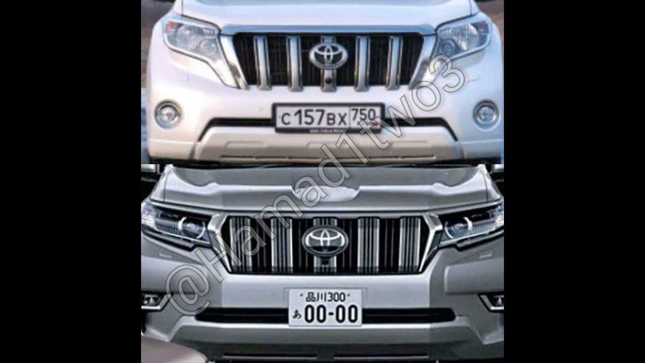 2018 Toyota Land Cruiser Prado leaked official image