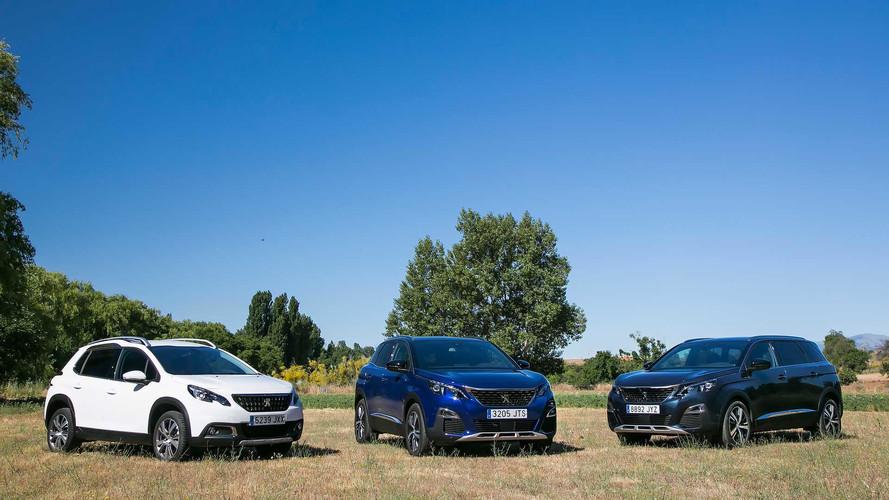 Prueba de la gama SUV 2017 de Peugeot