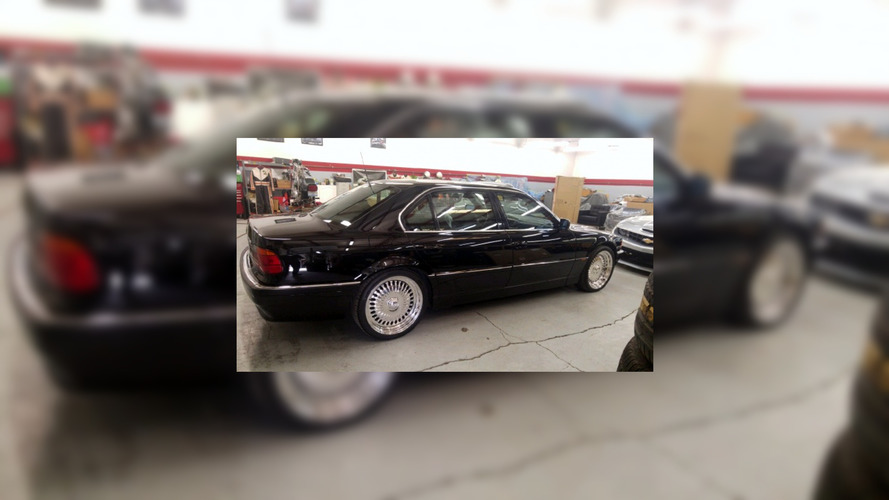 1996 BMW 750 iL in which Tupac was shot