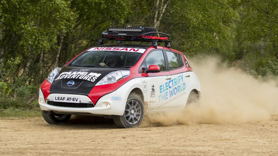 La Nissan Leaf s'attaque au Mongol Rally