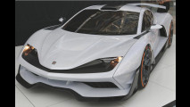 Aria FXE: Supersportler mit 1.165 PS