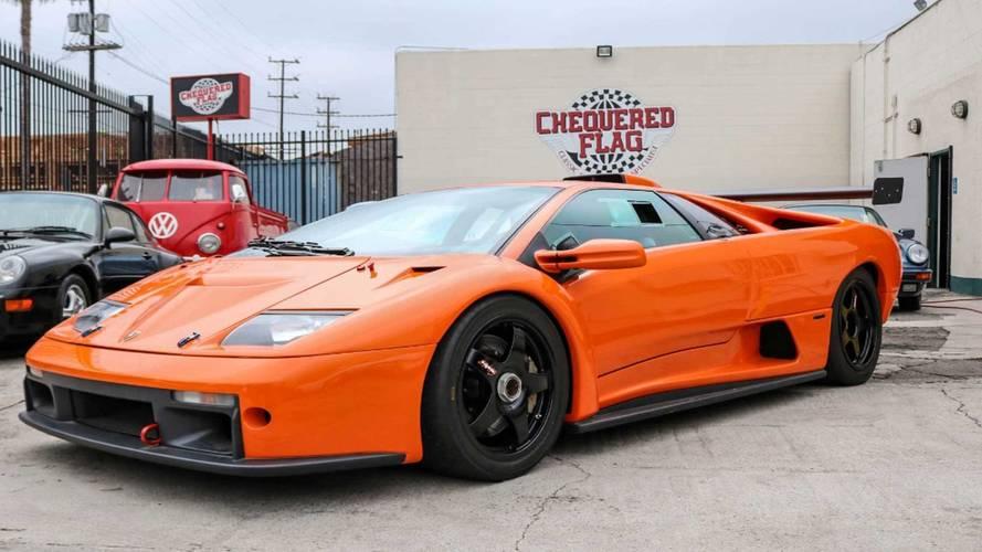 Cette impressionnante Lamborghini Diablo GTR de 2000 est à vendre !
