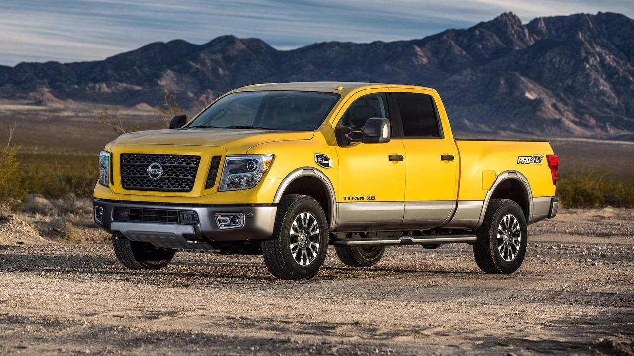 10. Heavy Duty Pickup Trucks: Nissan Titan XD