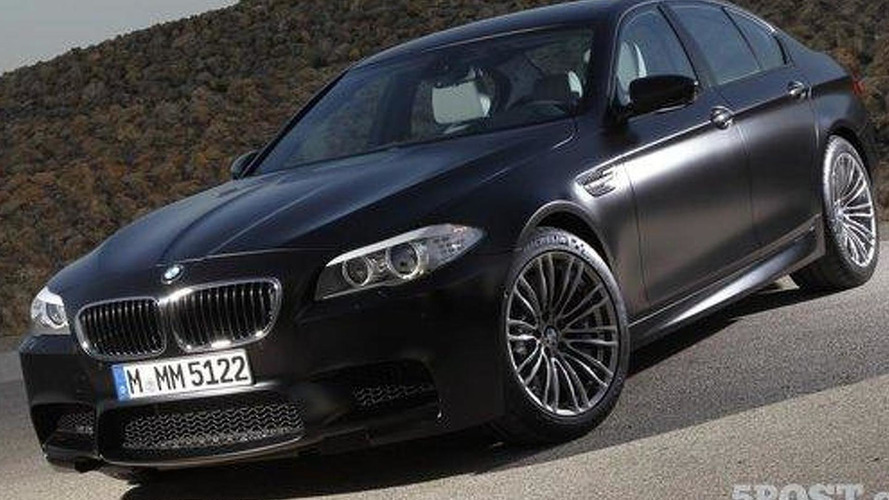 BMW M5 Frozen Black - a refreshing new color