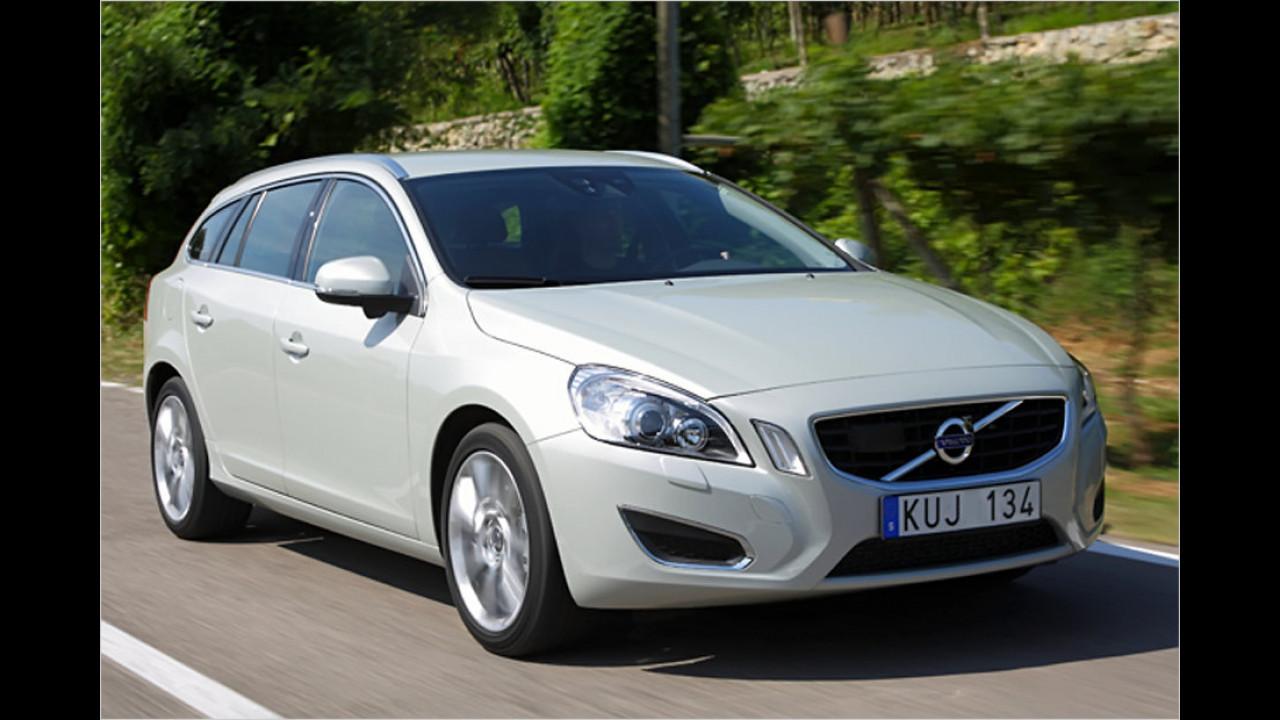 Mittelklasse, 50.001 bis 100.000 Kilometer: Volvo S60/V60 (2010)