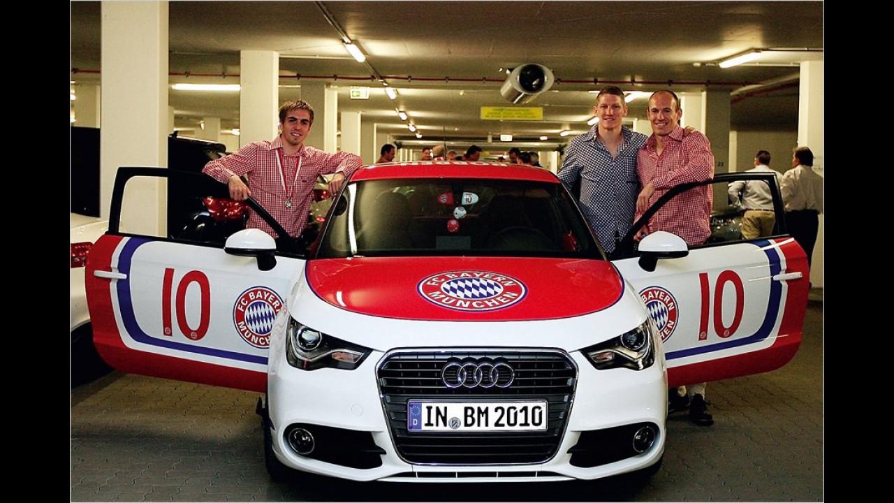 Bayern München: Audi A1 ,Arjen Robben