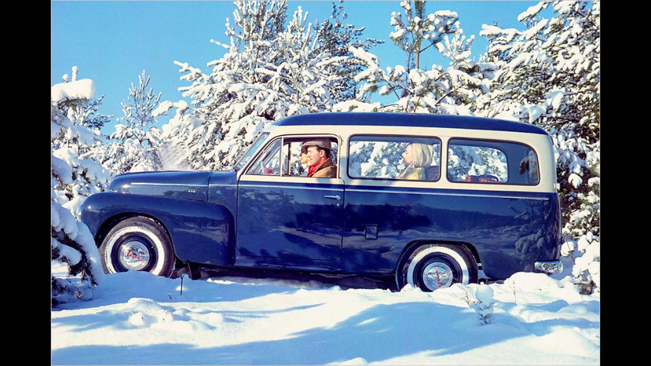 Volvo Duett: Drei Versionen