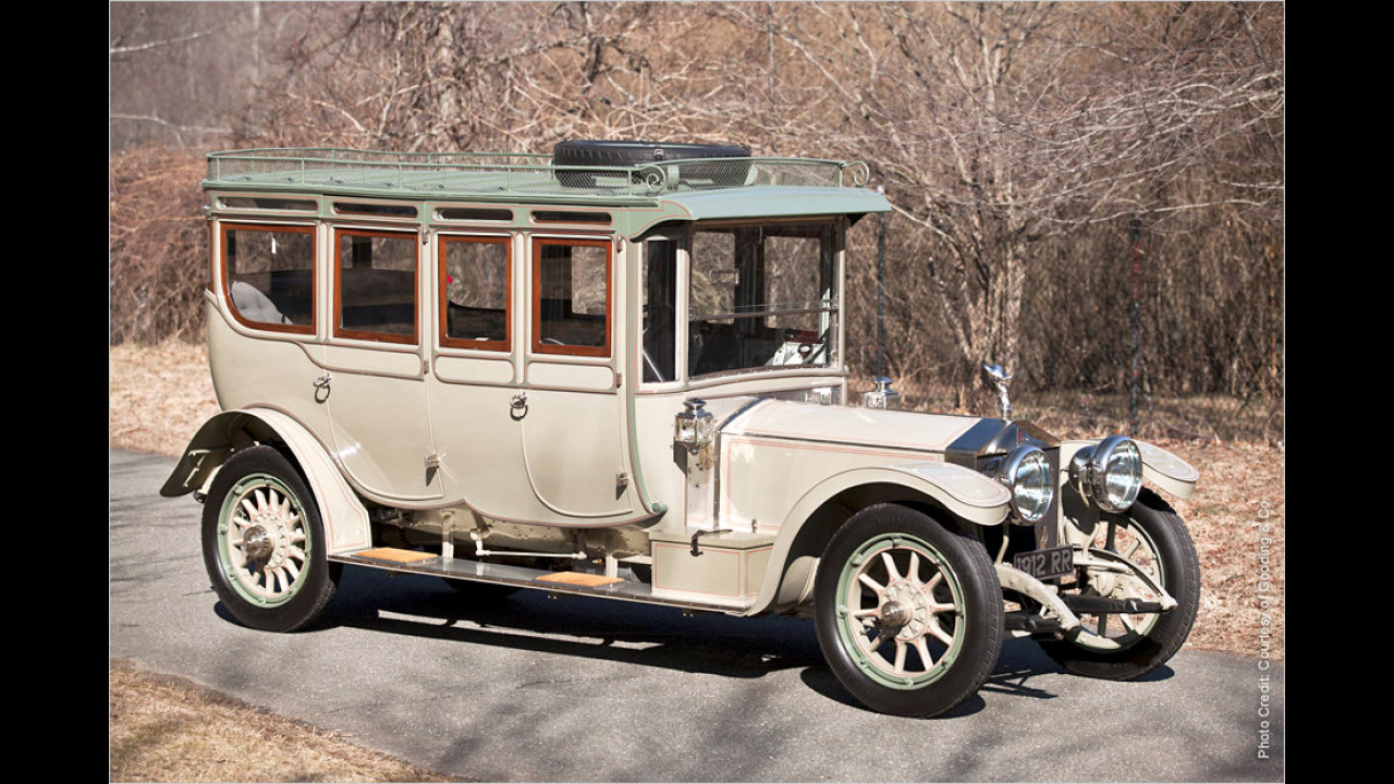 Platz 7: Rolls-Royce Silver Ghost ,The Corgi