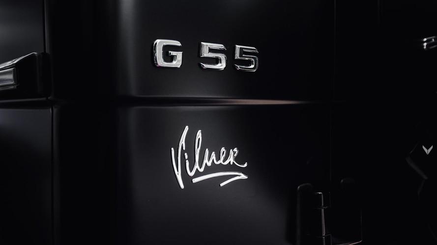 Mercedes G55 AMG'nin içine Vilner dokunuşu