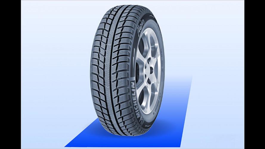 Michelin bringt Alpin A3 mit neuem Winterreifen-Konzept