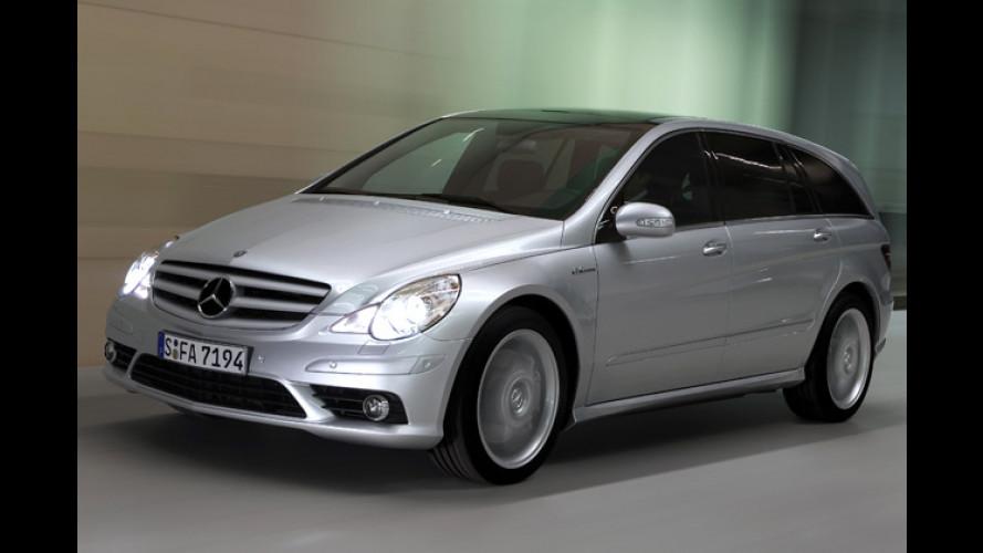 Ultimativer Renn-Van: Mercedes bringt R-Klasse mit Feuer