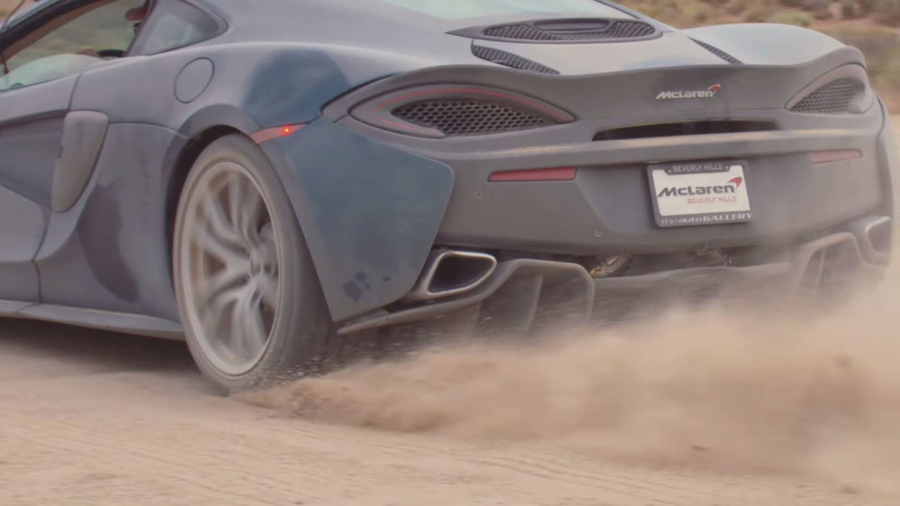 McLaren 570GT back roads