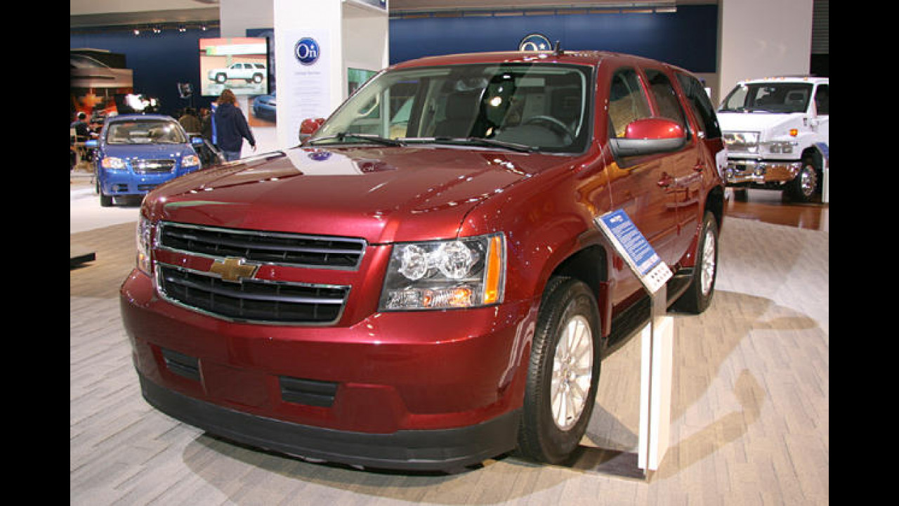 Chevrolet Tahoe Two-mode Hybrid